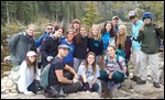 The team at Dream Lake in Rocky Mountain Nat Park